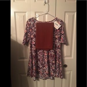 LLR small cassie skirt & small perfect T